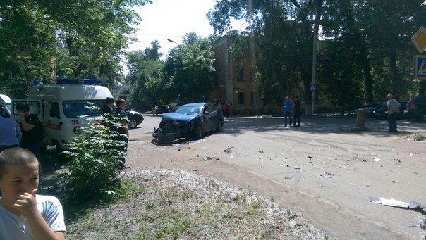 В Ульяновске 7 человек пострадали в аварии с маршруткой. ФОТО, фото-1