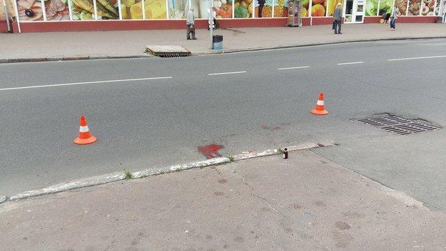 Черниговчанин сбил пенсионера на тротуаре и скрылся с места ДТП, фото-1