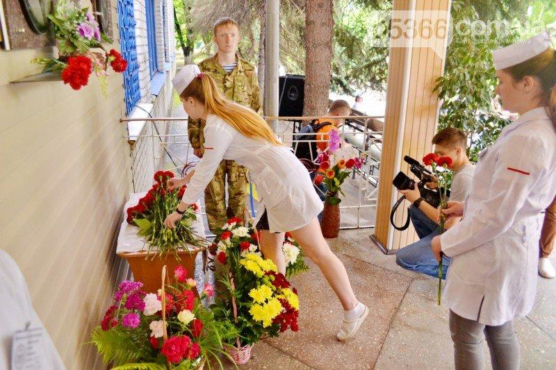 В Кременчуге открыли мемориальную доску в честь героя АТО Степана Усса (ФОТО), фото-2