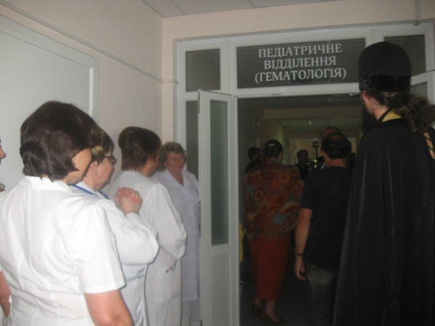 В Черниговской областной детской больнице открыли онкогематологический блок, фото-1