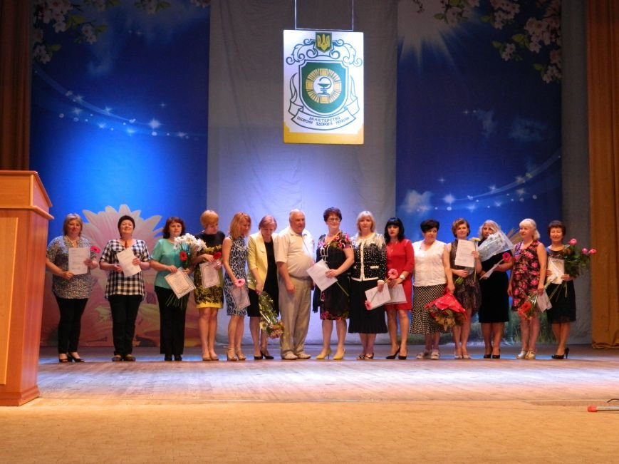 В Краматорске поздравили медиков, фото-3