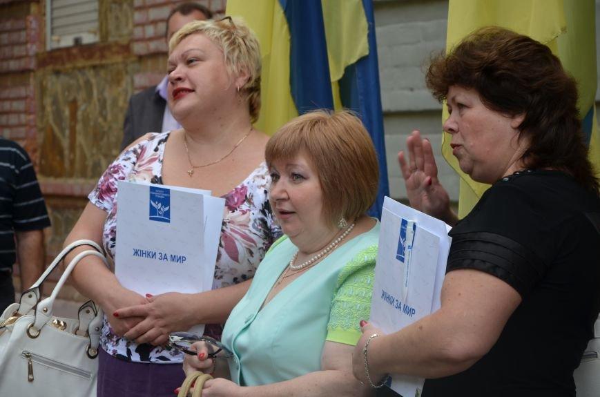 В Мариуполе активистам не удалось подарить похоронный венок Наталье Королевской (ФОТО+ВИДЕО), фото-2