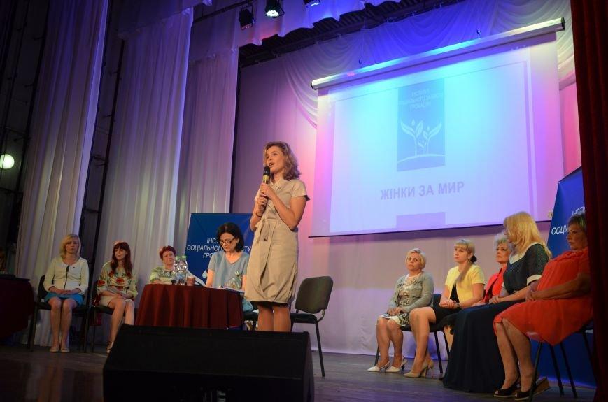 В Мариуполе Наталия Королевская объединила женщин против войны (ФОТО), фото-5