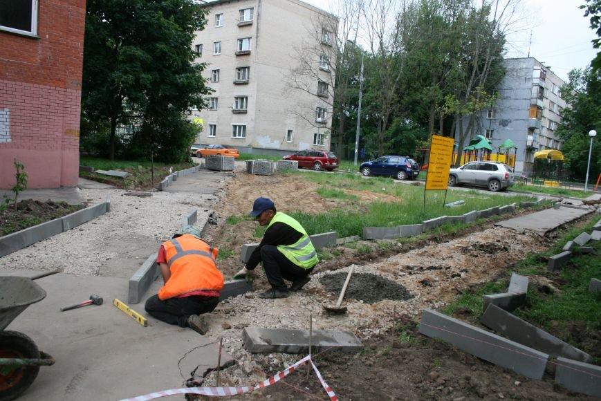 На Школьной улице Троицка благоустроили территорию, фото-4
