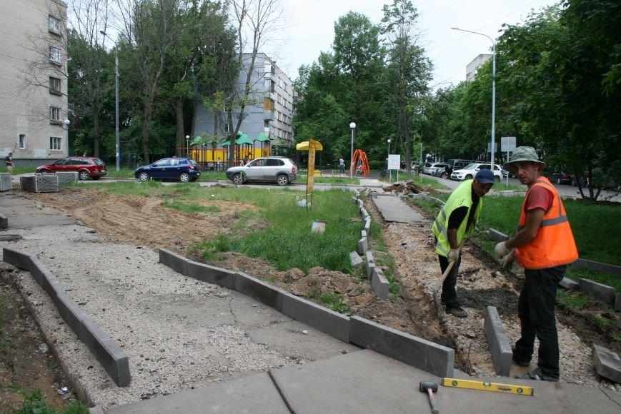 На Школьной улице Троицка благоустроили территорию, фото-6