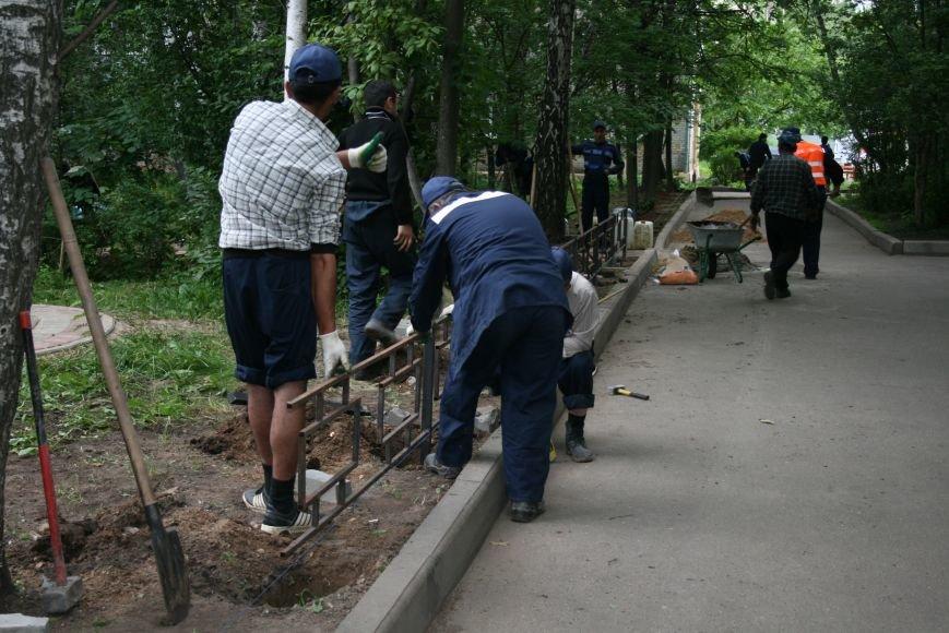 На Школьной улице Троицка благоустроили территорию, фото-3