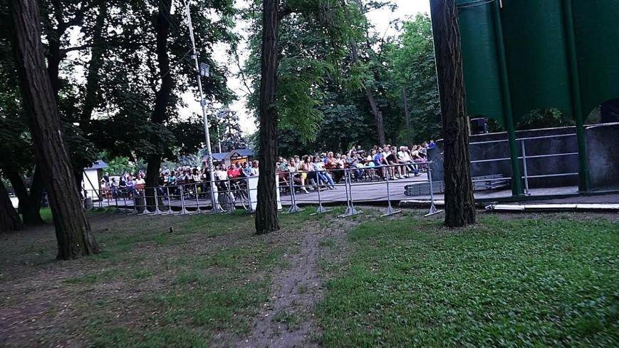 Мариупольцы  в Городском саду болели за Украину (ФОТОРЕПОРТАЖ), фото-3