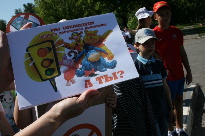 Сотрудники ГИБДД провели рейд «Безопасный гаджет» на улице Троицка, фото-3