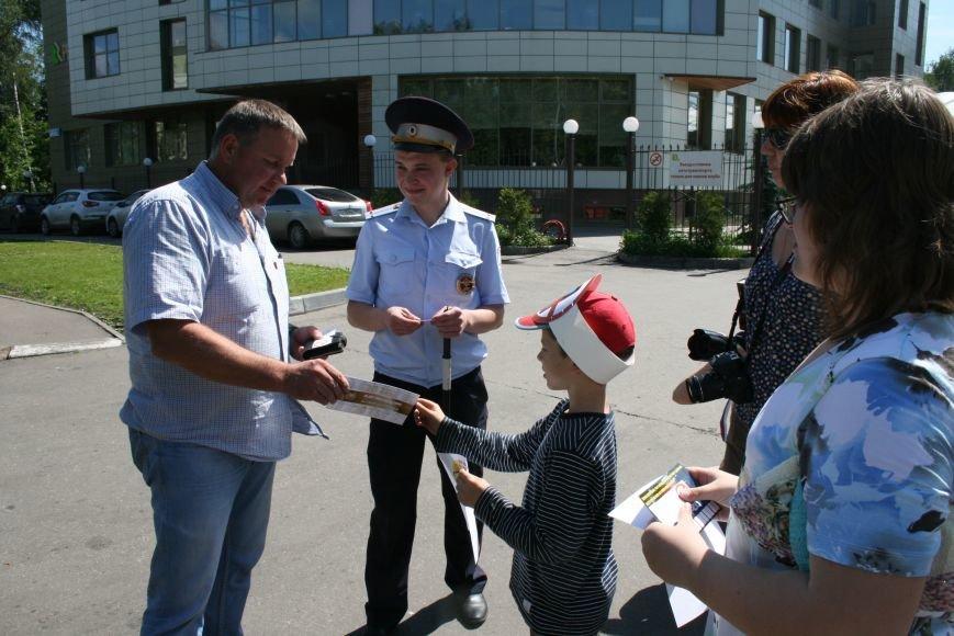 Сотрудники ГИБДД провели рейд «Безопасный гаджет» на улице Троицка, фото-7
