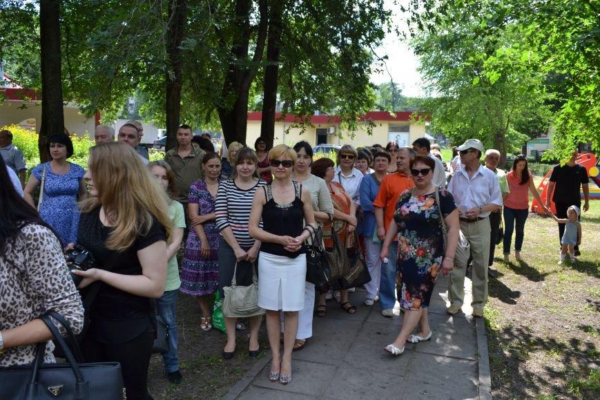 В Каменском открыли обновленный сквер им. Станислава Лясоты, фото-6