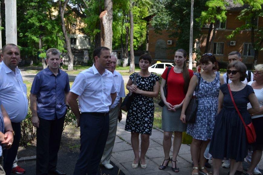 В Каменском открыли обновленный сквер им. Станислава Лясоты, фото-5