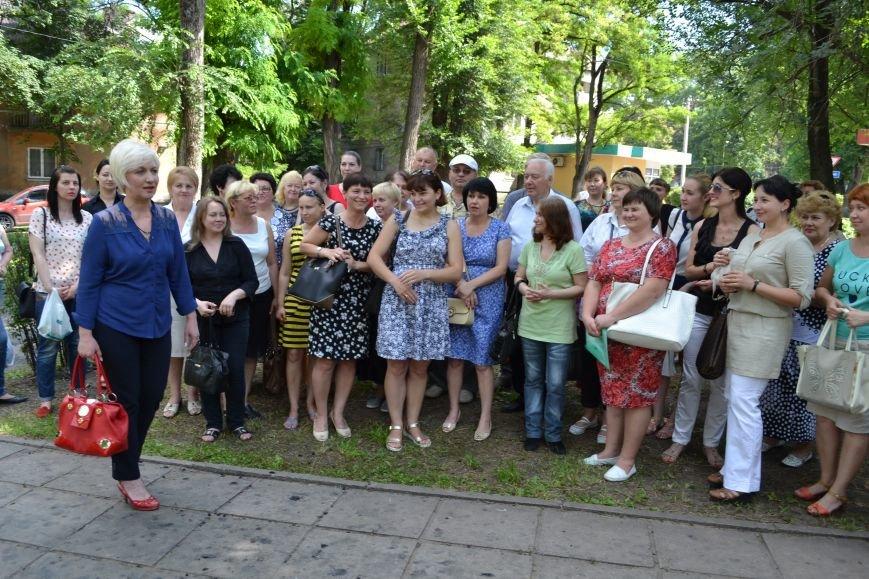 В Каменском открыли обновленный сквер им. Станислава Лясоты, фото-10