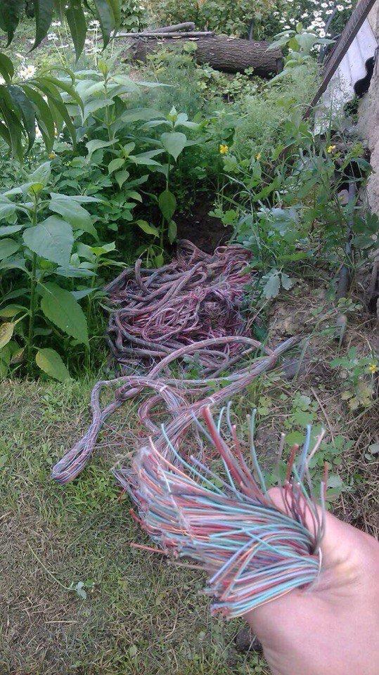 В Каменском сотрудники «Укртелекома» воровали кабели «Укртелекома», фото-6