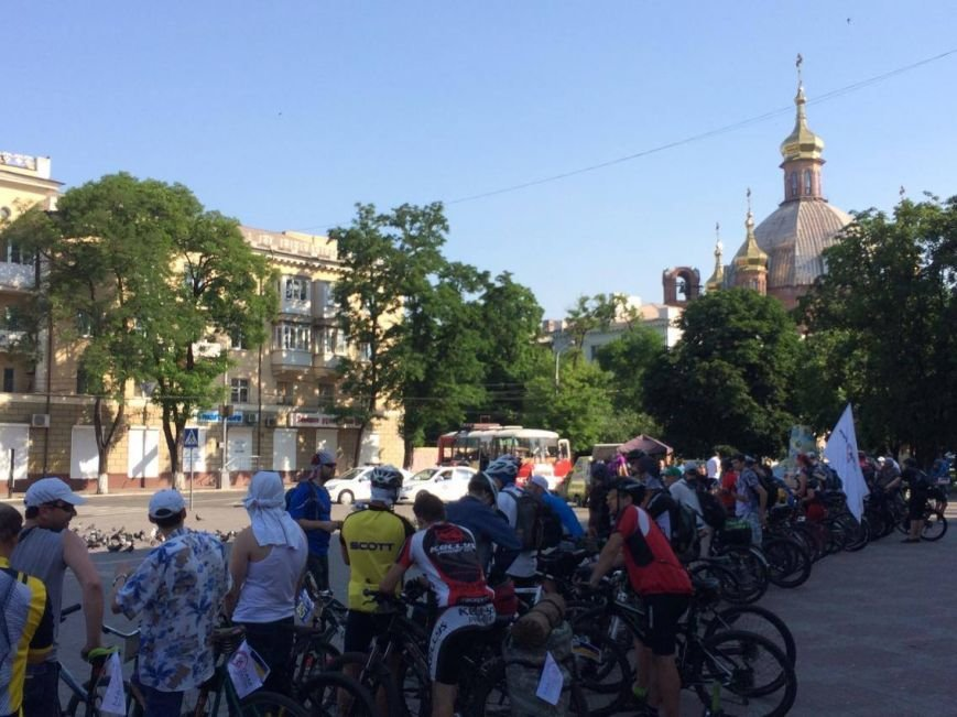 """В """"Велотур дружбы"""" по маршруту Мариуполь - Бердянск - Мариуполь отправилось около 100 велосипедистов (ФОТО, ВИДЕО)), фото-6"""
