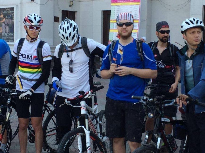 """В """"Велотур дружбы"""" по маршруту Мариуполь - Бердянск - Мариуполь отправилось около 100 велосипедистов (ФОТО, ВИДЕО)), фото-2"""