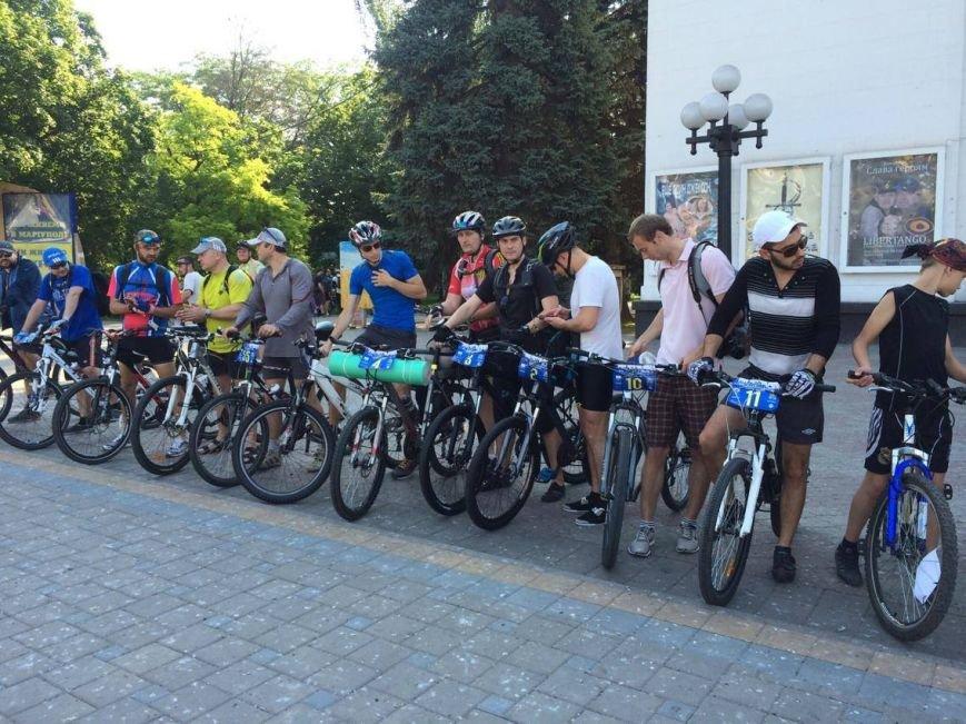 """В """"Велотур дружбы"""" по маршруту Мариуполь - Бердянск - Мариуполь отправилось около 100 велосипедистов (ФОТО, ВИДЕО)), фото-1"""
