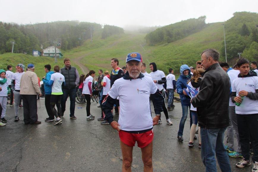 «Олимпийскую милю» пробежали и проехали в Южно-Сахалинске, фото-8