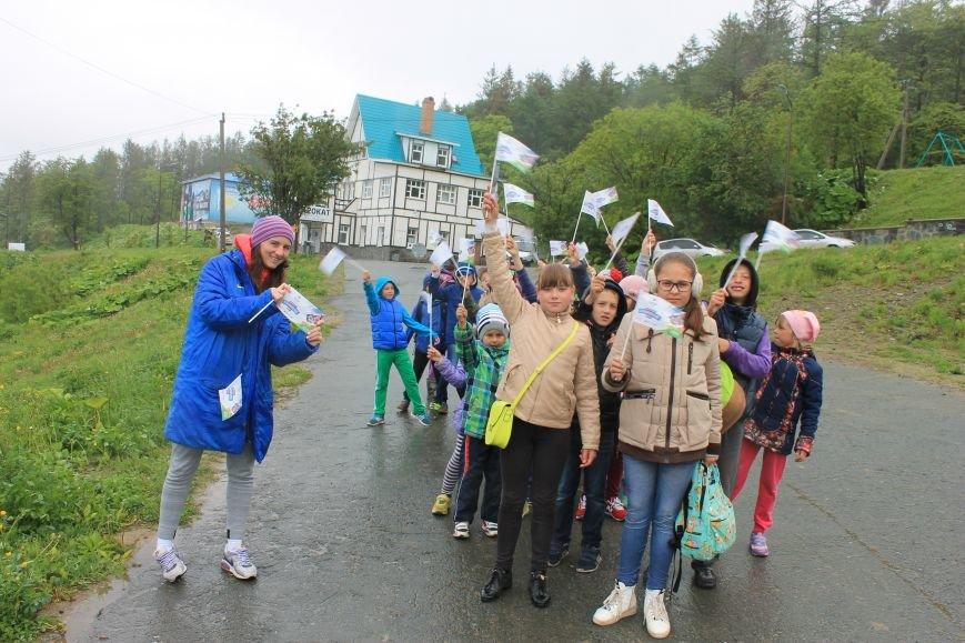 «Олимпийскую милю» пробежали и проехали в Южно-Сахалинске, фото-1