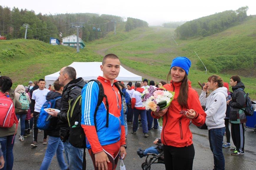 «Олимпийскую милю» пробежали и проехали в Южно-Сахалинске, фото-5