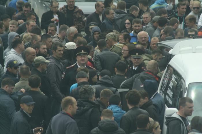 Сахалинские джипперы протестовали против очередных поборов, фото-4