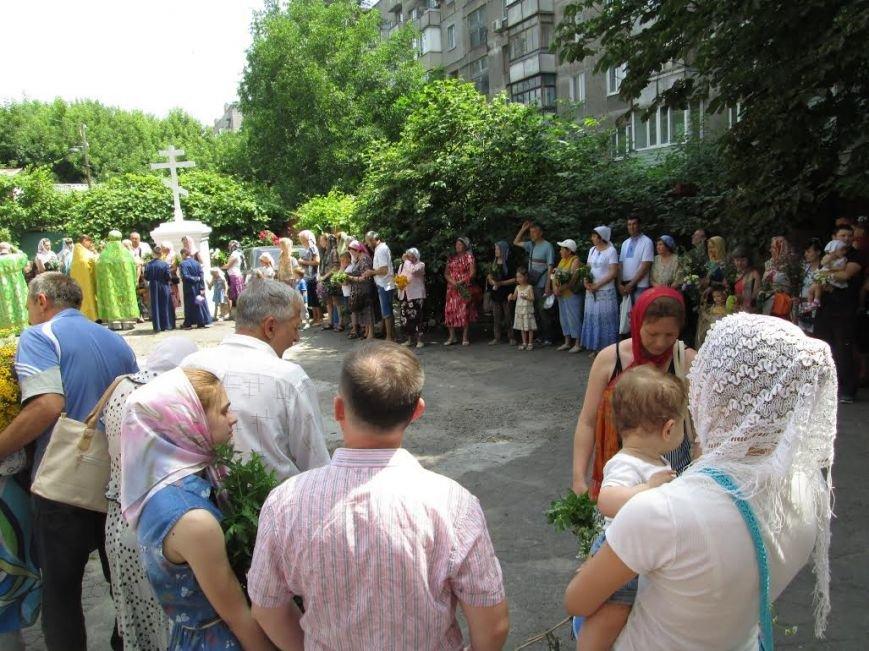 Православные мариупольцы отмечают Святую Троицу (ФОТО), фото-2