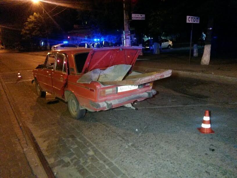"""В Мариуполе пьяные на """"шестерке"""" устроили погоню с копами (ФОТО+ВИДЕО), фото-15"""