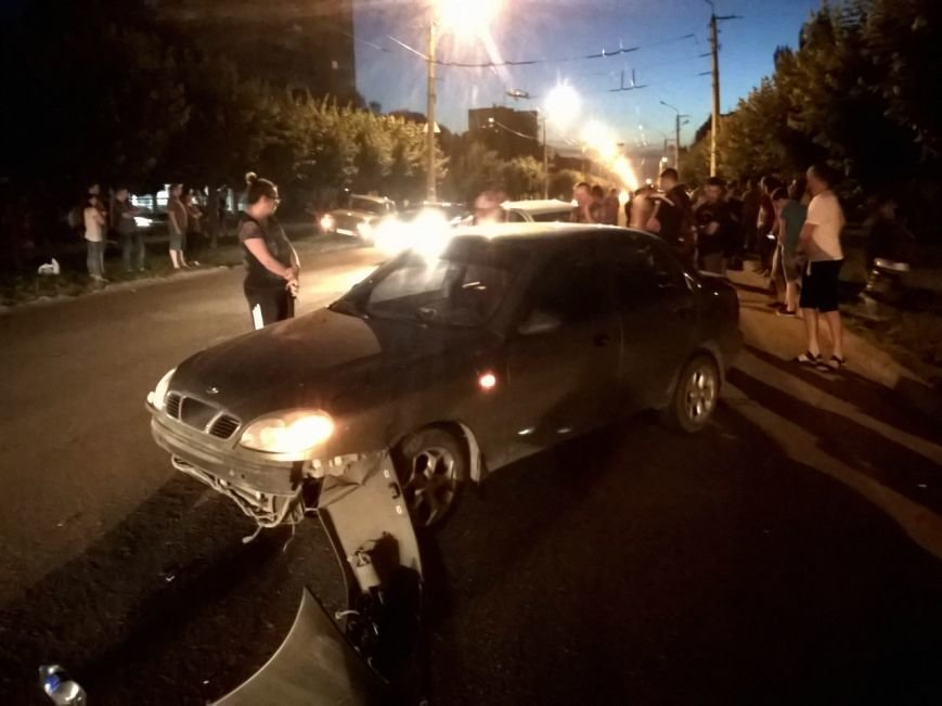 Пьяный водитель устроил аварию в Краматорске, фото-1