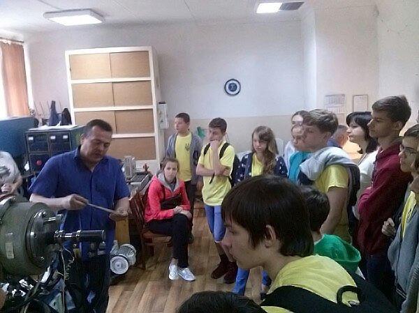 Школьники Краматорска окунулись в студенческую жизнь, фото-4