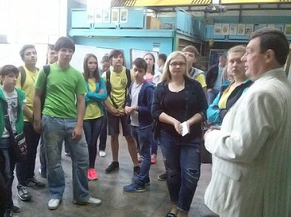 Школьники Краматорска окунулись в студенческую жизнь, фото-3