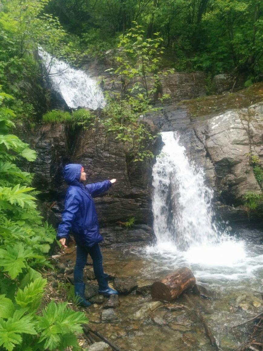ознакомление с маршрутом на Уюновский водопад (2)
