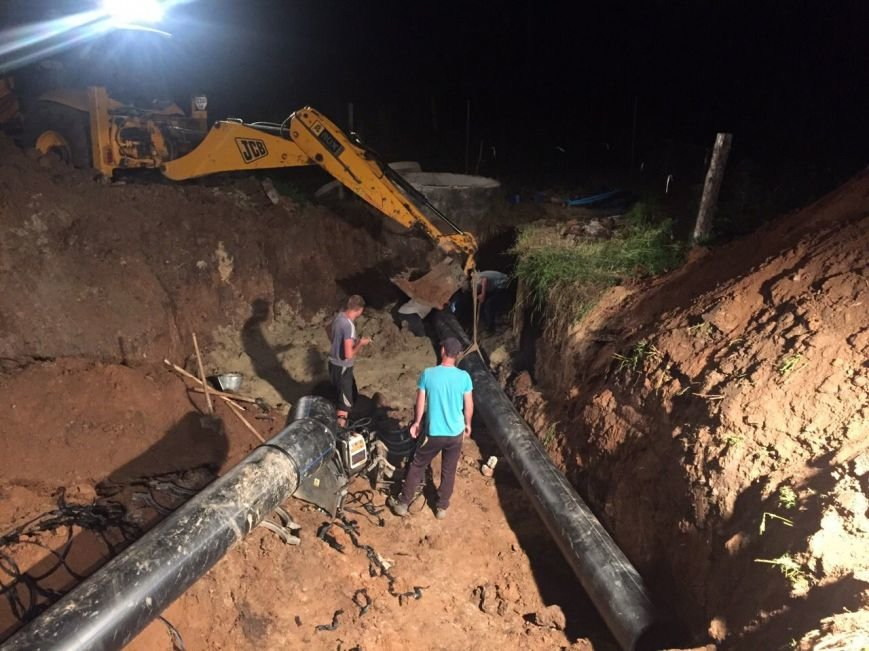 Водоснабжение жителям микрорайона «Восточный» обещают восстановить до конца июня, фото-1