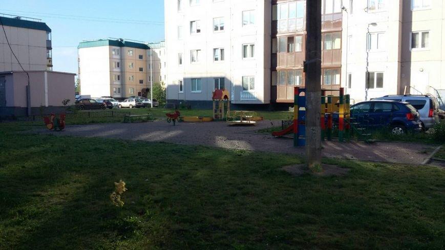 Детская площадка в Пушкине2