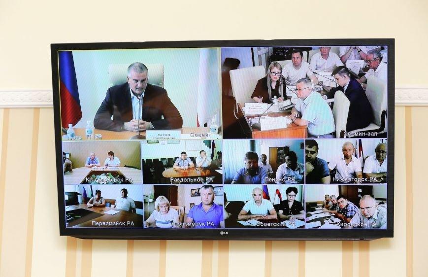 Аксёнов отметил положительную динамику выполнения поручений в выходные дни в некоторых районах Крыма (ФОТО), фото-3