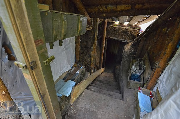 Медсестра из Доброполья уже второй месяц живет в блиндаже, фото-2