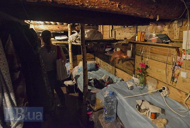 Медсестра из Доброполья уже второй месяц живет в блиндаже, фото-5