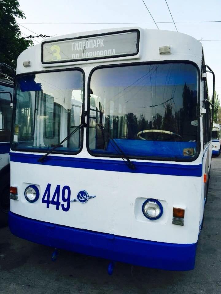 На улицы Херсона готовы выйти два обновленных троллейбуса (фото), фото-3