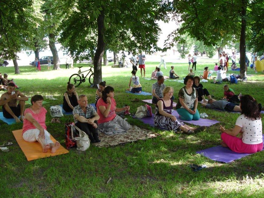 У Білій Церкві відзначили Міжнародний день йоги, фото-2