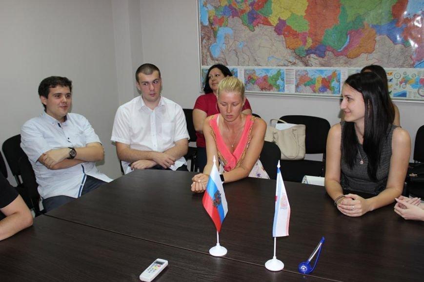 Спиридонов: 23 студента пройдут практику в Госкомрегистре Крыма (ФОТО), фото-4