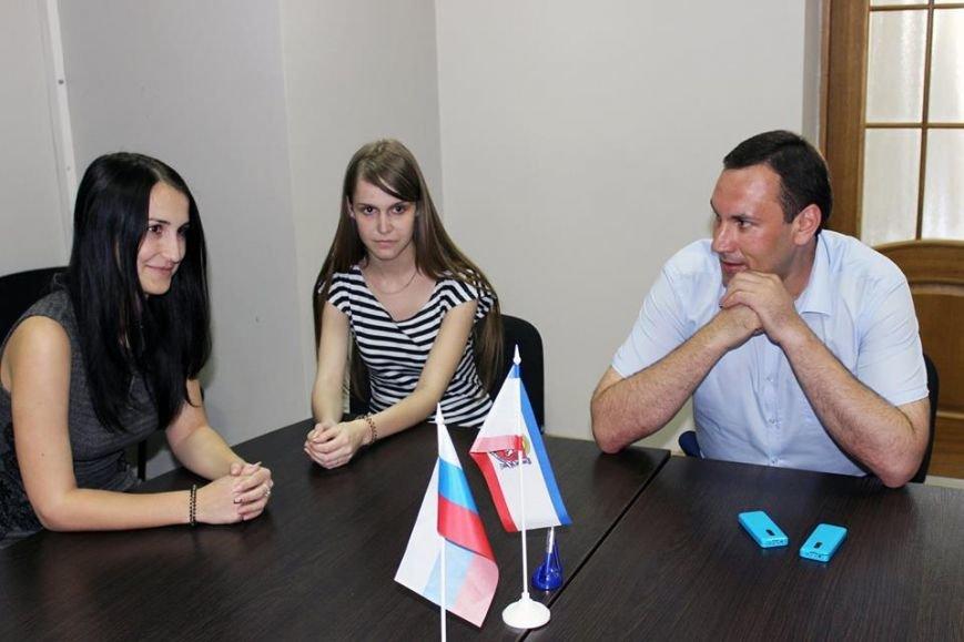 Спиридонов: 23 студента пройдут практику в Госкомрегистре Крыма (ФОТО), фото-3