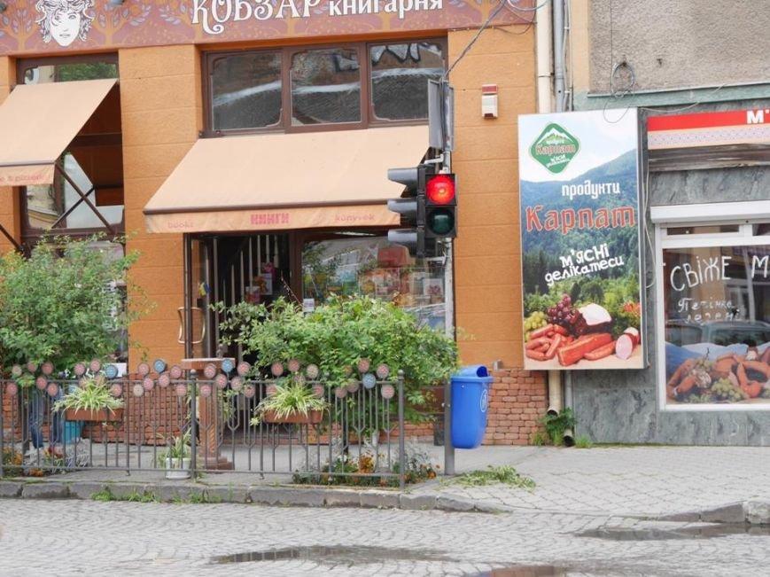 """В Ужгороді біля """"Кобзаря"""" запрацював ще один світлофор: фото, фото-3"""