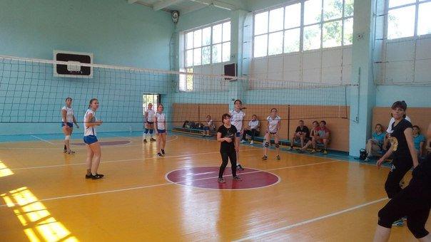 спорт волейбол