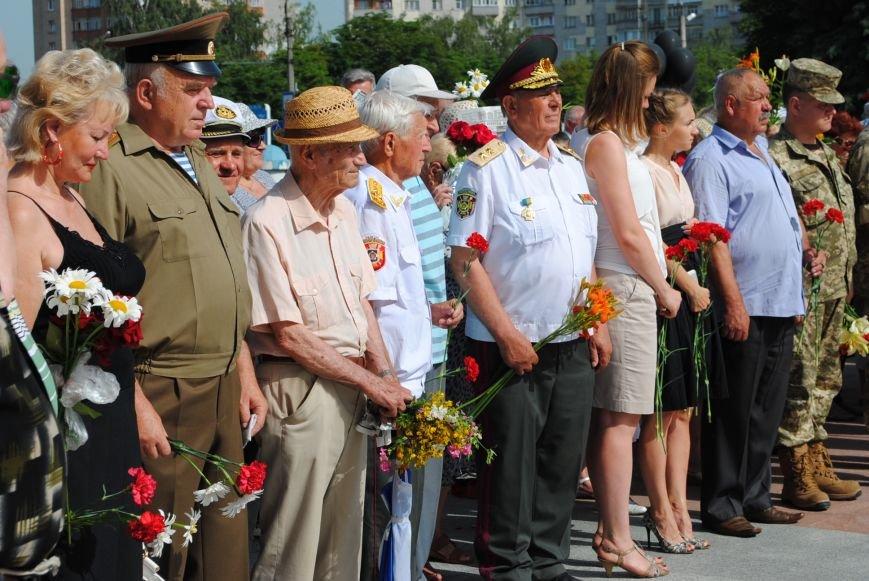 Кременчужане почтили погибших в самой страшной и масштабной войне 20 столетия, фото-2