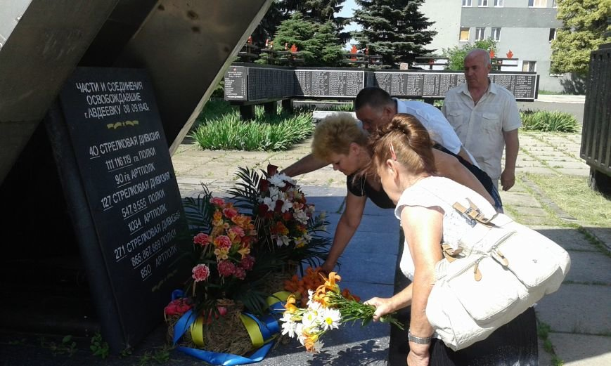 В Авдеевке почтили память жертв войны в Украине (ФОТО), фото-4