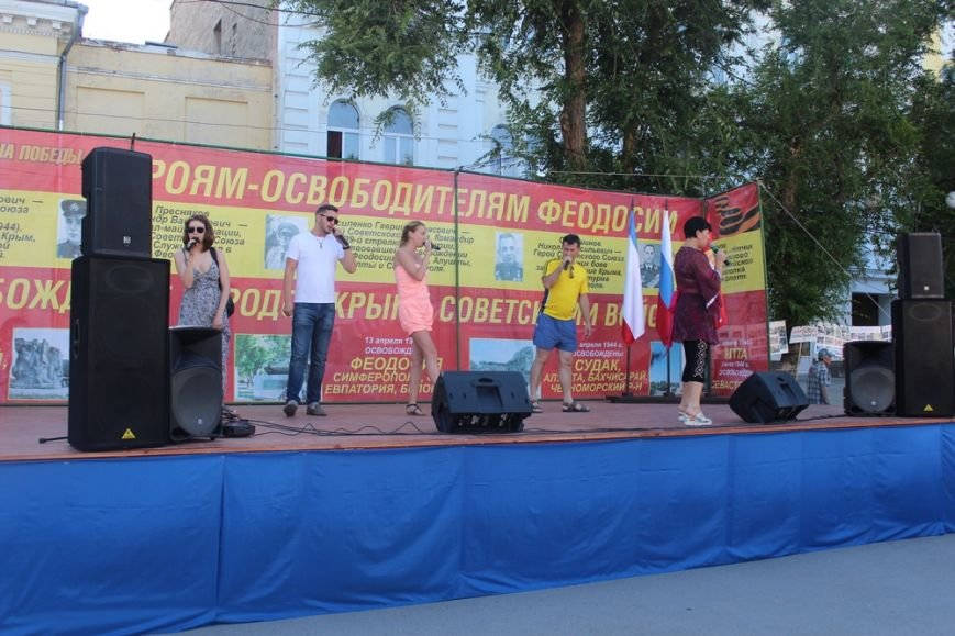 Власти Симферополя поучаствовали в антинатовском митинге в Феодосии (ФОТО), фото-5