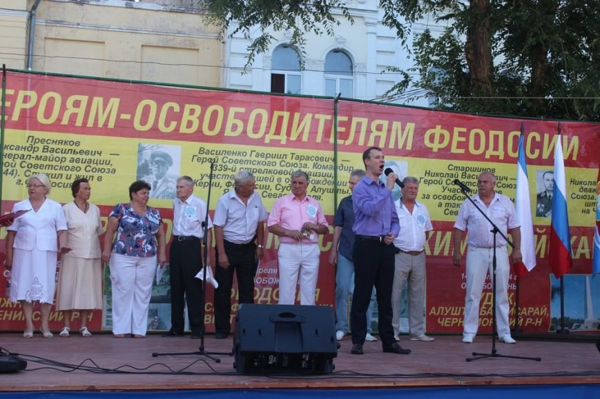Власти Симферополя поучаствовали в антинатовском митинге в Феодосии (ФОТО), фото-3