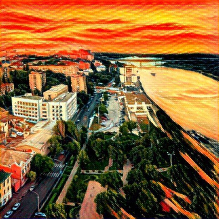Ростов в «Призме»: популярные места города как шедевры живописи, фото-1