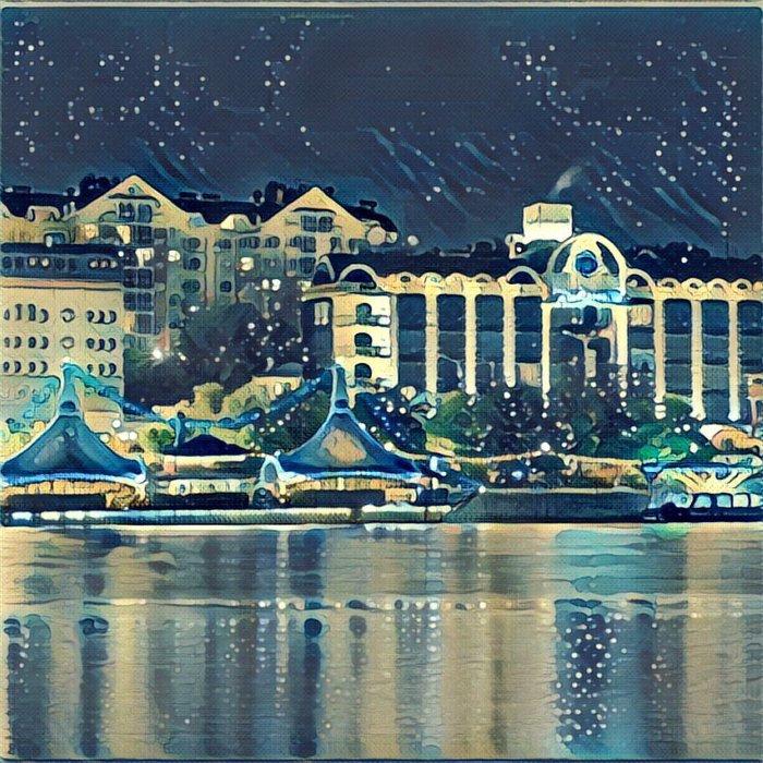 Ростов в «Призме»: популярные места города как шедевры живописи, фото-2