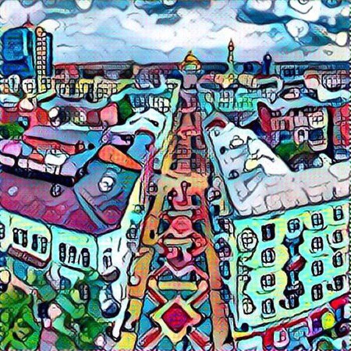 Ростов в «Призме»: популярные места города как шедевры живописи, фото-16
