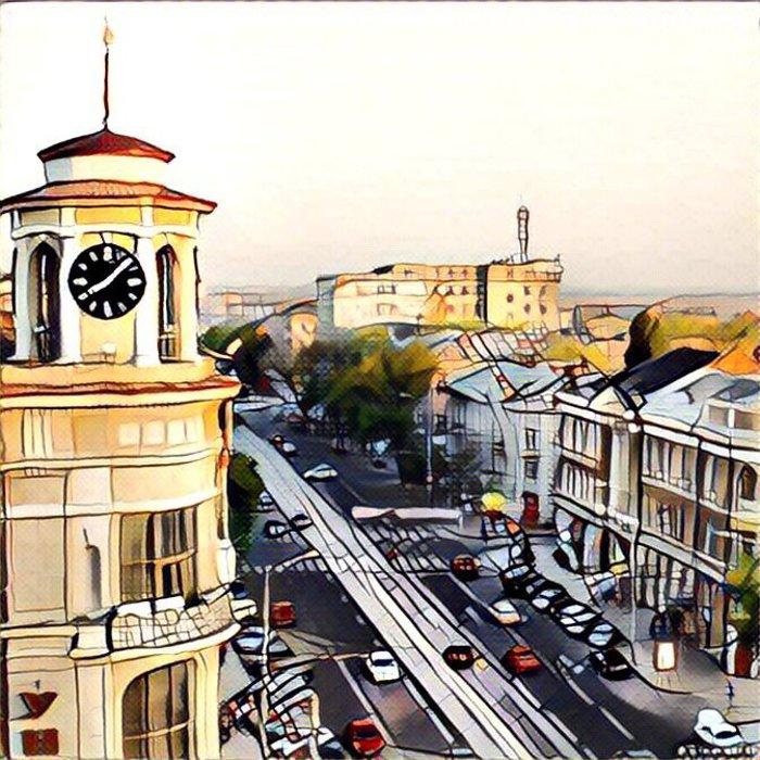 Ростов в «Призме»: популярные места города как шедевры живописи, фото-5