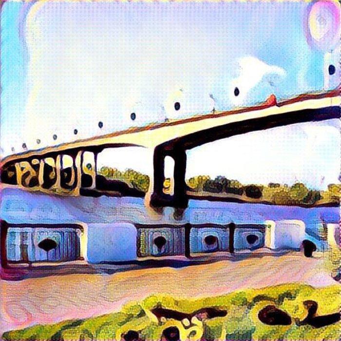 Ростов в «Призме»: популярные места города как шедевры живописи, фото-13